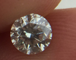 (B4) Marvelous $3200 IGL Certified 0.57ct. Round White Diamond