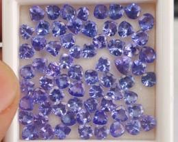 Tanzanite Hearts big lot 16.30 Cts *
