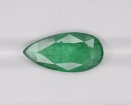 Emerald, 6.43ct-Mined in Zambia