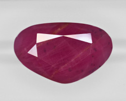 Ruby, 72.95ct - Mined in Guinea | Certified by GII