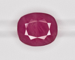 Ruby, 18.22ct - Mined in Guinea | Certified by GII