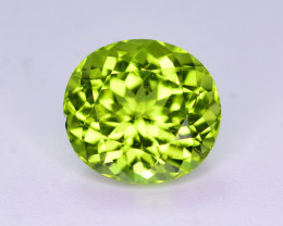 Brilliant Color 3.15 Ct Natural Himalayan Peridot. RA