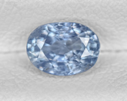 Blue Sapphire, 0.92ct - Mined in Kashmir | Certified by GIA & IGI