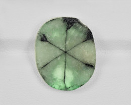 Trapiche Emerald, 10.24ct - Mined in Colombia | Certified by IGI