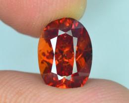 AAA Color 3.95 ct Hessonite Garnet