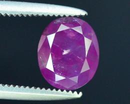 Rarest 1.90 ct Pink Corundum Sapphire~Kashmir