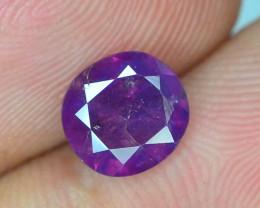 Rarest 1.60 ct Pink Corundum Sapphire~Kashmir