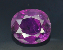 Rarest 1.45 ct Pink Corundum Sapphire~Kashmir