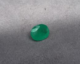 Wonderful  Muzo Oval 5,00ct Colombian Emerald Ref 27/32