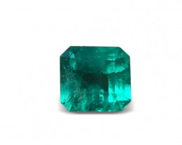 Wonderful Green 3,73ct Colombian Emerald Ref 12/23