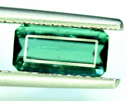 2.10 CT.  Neon Blue Indicolite Color Natural Tourmaline Gemstone from Afgha