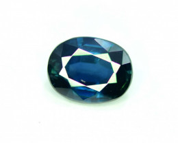 1.30 CT Bi-Color Flawless Party Sapphire Gemstone Oval Cut