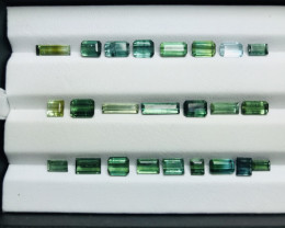 16.90 Carats Tourmaline Gemstones Parcel From Afghanistan
