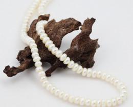 45 cm Fresh Water Pearl Stand IvoryPearls GWE 2006g