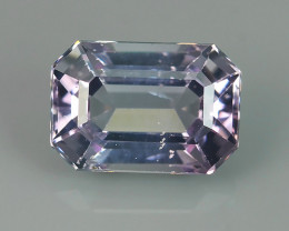 1.15~CTS GENUINE NATURAL ULTRA RARE COLLECTION OCTAGON FANCY SPINEL~