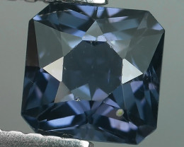 1.18 CTS~ADAROBLE RARE NATURAL FANCY~CUT BLUE SPINEL !$550.00