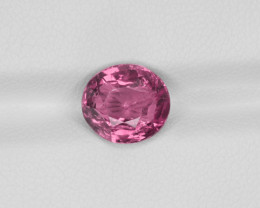 Pink Sapphire, 3.52ct - Mined in Madagascar   Certified by IGI