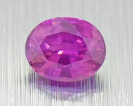 Unheated Sapphire 0.52ct vivid colour (01550)