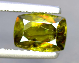 2.05 Carats Full Fire Chrome Sphene Gemstone From Pakistan