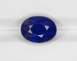 Blue Sapphire, 5.05ct - Mined in Kashmir | Certified by GIA