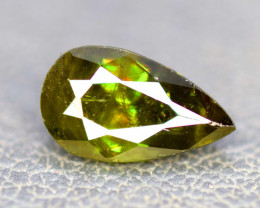 5.00 Carats Full Fire Chrome Sphene Gemstone From Pakistan