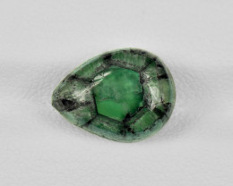 Trapiche Emerald, 4.94ct - Mined in Colombia | Certified by IGI