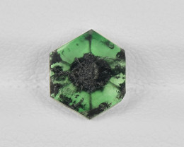 Trapiche Emerald, 1.32ct - Mined in Colombia | Certified by IGI