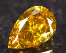0.38Ct Fancy VS Yellow Natural Diamond A2303
