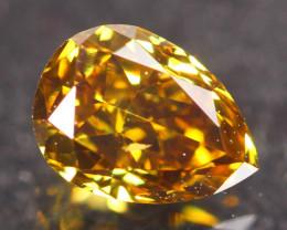 0.51Ct Fancy VVS Intense Orange Natural Diamond A2308