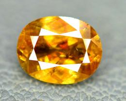 3.10 Carats Full Fire Chrome Sphene Gemstone From Pakistan