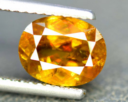 3.10 Carats Full Fire Chrome Sphene Gemstone From Pakistan