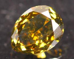 0.51Ct Fancy VS Green Natural Diamond B2305