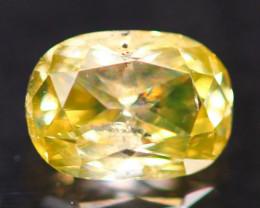 0.35Ct Fancy Green Natural Diamond B2309
