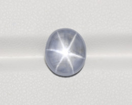 Blue Star Sapphire, 5.87ct - Mined in Burma | Certified by IGI