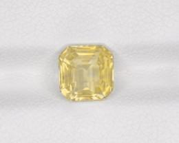 Yellow Sapphire, 2.05ct - Mined in Sri Lanka | Certified by IGI