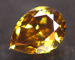 0.46Ct Fancy Yellow Natural Diamond C2305