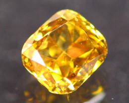0.34Ct Fancy VS Yellow Natural Diamond C2306