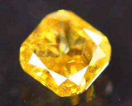 0.30Ct Fancy Yellow Natural Diamond C2311