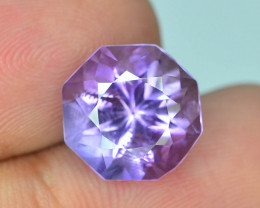 Top Color 5.60 ct AAA Color & Cut Untreated Amethyst