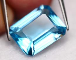 13.99Ct Blue Topaz Natural VVS Swiss BLue Topaz  A2702