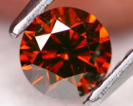 0.56Ct Fancy VVS Vivid Red Natural Diamond B2903