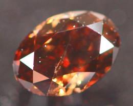 0.26Ct Fancy Brownish Red Natural Diamond B2905