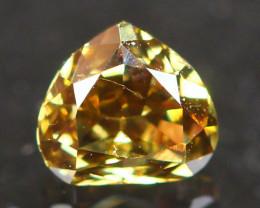 0.24Ct Fancy Olive Green Natural Diamond B3007