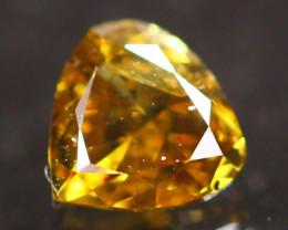 0.24Ct Fancy Greenish Yellow Natural Diamond B3011