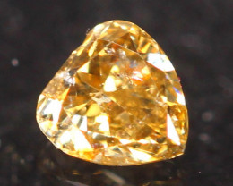 0.12Ct Untreated Fancy Diamond Natural Color R01
