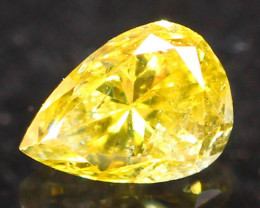 0.12Ct Untreated Fancy Diamond Natural Color R09
