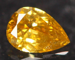0.12Ct Untreated Fancy Diamond Natural Color R10