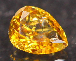 0.14Ct Untreated Fancy Diamond Natural Color R12