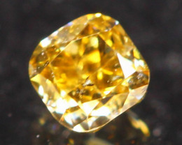 0.16Ct Untreated Fancy Diamond Natural Color R21