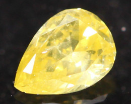 0.14Ct Untreated Fancy Diamond Natural Color R24